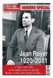 jean royer un destin 3 - La Nouvelle République