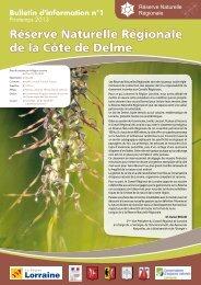 rNr Côte de Delme - Conseil Régional de Lorraine