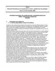 patronato nacional de alfabetización y extensión educativa - Unesco