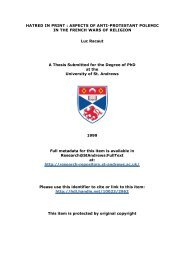 Luc Racaut PhD Thesis - University of St Andrews