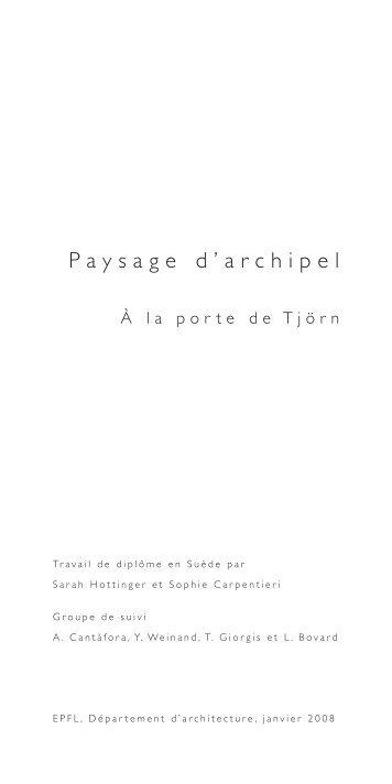 énoncé Tjörn.pdf - EPFL