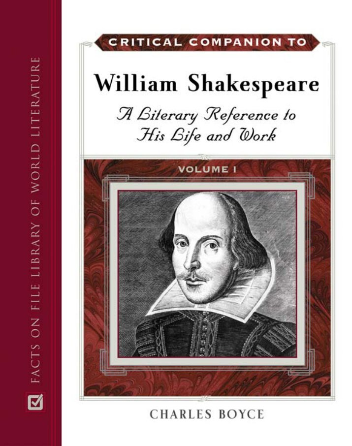 critical essays on william shakespeare Gradesaver offers study guides, application and school paper editing services, literature essays, college application essays and writing help.