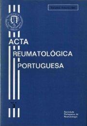 1985 Volume X, 3, 3º Trimestre - Acta Reumatológica Portuguesa