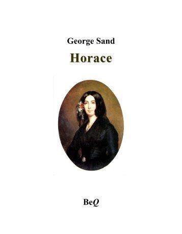 Horace - La Bibliothèque électronique du Québec