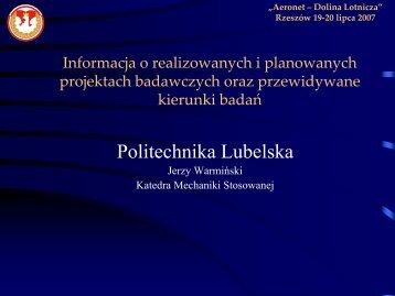 Politechnika Lubelska - AeroNet