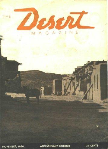 195011-DesertMagazin.. - Desert Magazine of the Southwest