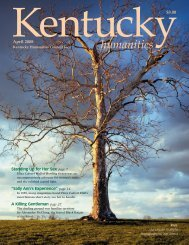 Kentucky Humanities Redesign.qk - Kentucky Humanities Council