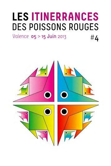 catalogue - programme 2013 - Les itinerrances des poissons rouges