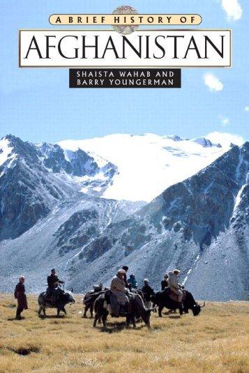 Brief History of Afghanistan