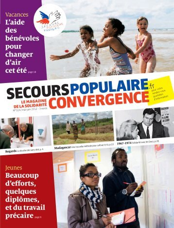 """convergence"" n° 324 - Secours populaire"