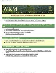 Télécharger sous pdf - World Rainforest Movement