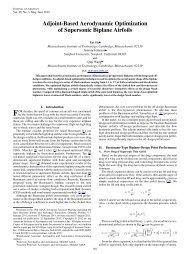 Adjoint-Based Aerodynamic Optimization of Supersonic Biplane ...