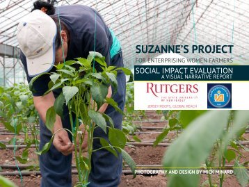 SUZANNE'S PROJECT - Rutgers, The State University of New Jersey