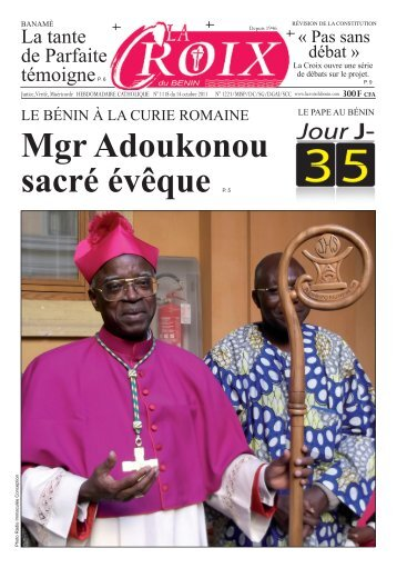 La tante de Parfaite témoigneP. 6 - La Croix du Bénin
