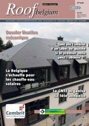 Roofbelgium - Magazines Construction