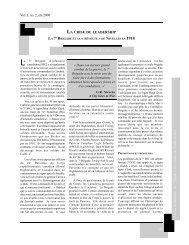 LA 7E BRIGADE ET SA « RÉVOLTE » DE NIVELLES EN 1918 [pdf 83