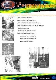 l GAMME COMPLETE DE PRODUITS :TOUTES APPLICATIONS ...