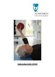 Jahresbericht 2010 - AGAPLESION gAG