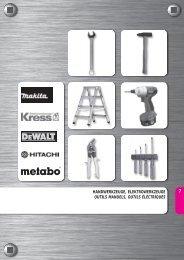 handwerkzeuge, elektrowerkzeuge outils manuels ... - Airproduct AG