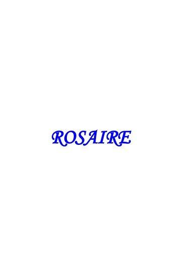 Télécharger le carnet (pdf) - rosaire-et-bible