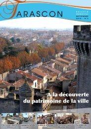 A la découverte du patrimoine de la ville - Tarascon