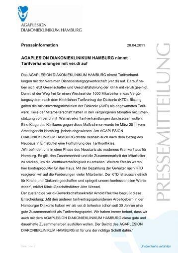 Presseinformation AGAPLESION DIAKONIEKLINIKUM HAMBURG ...