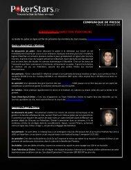 POKERSTARS.FR LANCE SON TEAM ONLINE