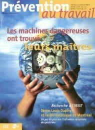 Les machines dangereuses - CSST