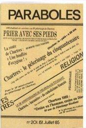JML 1985 07 Paraboles Homélie Je crois - Institut Jean-Marie Lustiger