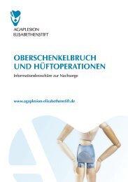 oberschenkelbruch und hüftoperationen - AGAPLESION ...