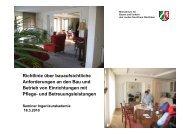 Abgrenzung WTG zum - AGBF NRW