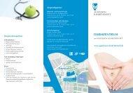 Darmzentrum - Flyer - Agaplesion Elisabethenstift