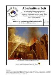 06-11-01 Abschnittsarbeit Gesthuysen - AGBF NRW ...