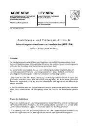 Ausbildung - (DRK), Landesverband Nordrhein e.V.