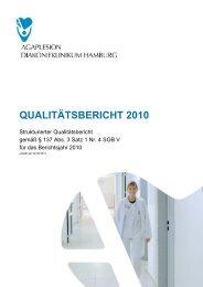 Qualitätsbericht 2010 - AGAPLESION gAG