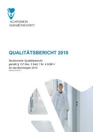 Qualitätsbericht 2010 (pdf) - Agaplesion Elisabethenstift