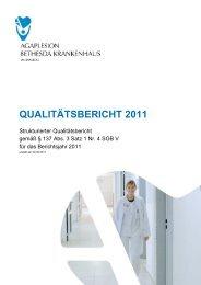 Strukturierter Qualitätsbericht - AGAPLESION gAG