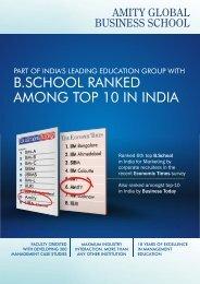 ahmedbad brochure2011.cdr - Amity Global Business School