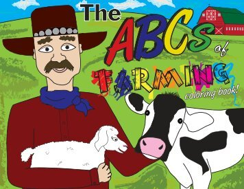 Farming ABC Coloring Book - South Dakota Team Ag-Ed