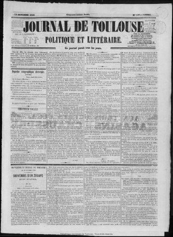 LR11L DE TO1JLOtJS - Bibliothèque de Toulouse