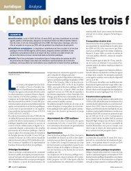 Téléchargez l'analyse - La Gazette Santé-Social