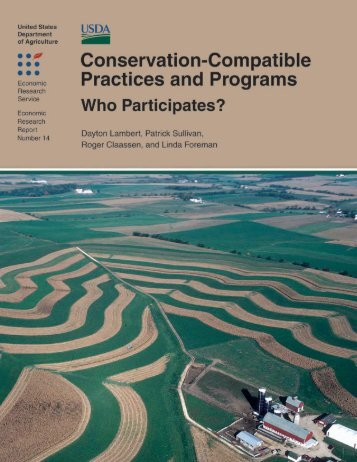 Conservation-Compatible Practices and Programs ... - AgEcon Search