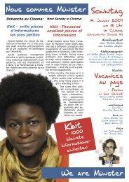 Sonntag Kbit - Die Linse