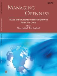 Trade and Outward-oriented Growth After the Crisis - World Bank