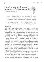 The relevance of black feminist scholarship - African Gender Institute