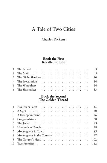 A Tale of Two Cities - TDS Mirrors