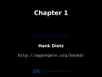 Chapter 1 - The Aggregate