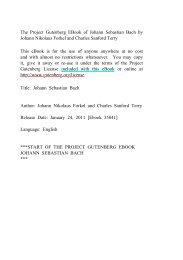 Johann Sebastian Bach - Mirrors hosted by aggregate.org