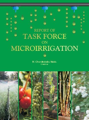 Task Force Report - Department of Agriculture & Co-operation