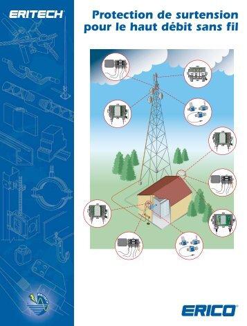 Protection de surtension pour le haut débit sans fil - Erico
